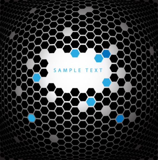 free vector Stations and spherical lattice vector background material